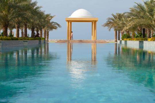 AEDXBHIRAS Hilton Resort & Spa Ras Al Khaimah Salt pool