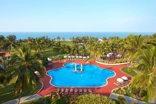 INGOIHOLID Holiday Inn Goa Pool From Rooftop