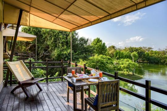 LKCMBJUNGL Jungle Beach Resort by Uga Escapes lagoon cabin 2