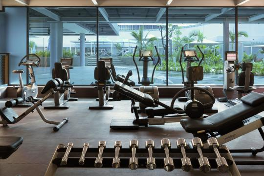 SGSINPANPA The Pan Pacific Singapore Gym - Copy