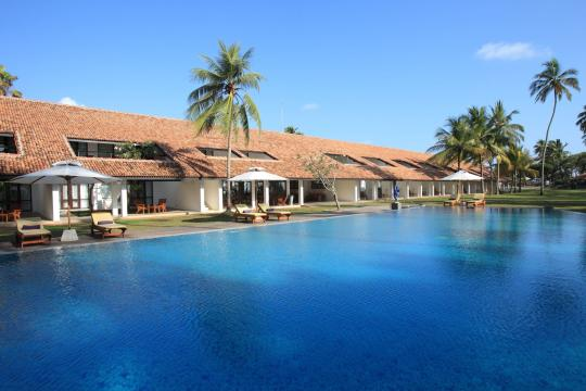 LKCMBAVANI Avani Bentota Resort Daytime View With The Pool