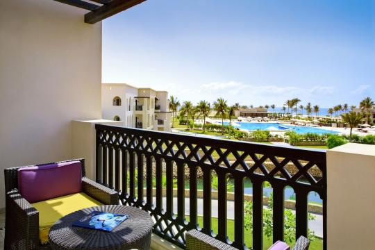 OMSLLROTA Salalah Rotana Resort Salalah Rotana Resort Classic Room - King Bed balcony