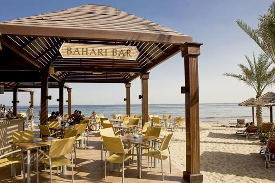 AEDXBIBERO Miramar Al Aqah Beach Resort by Iberotel Beach Bar