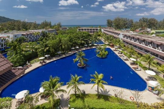 THHKTKAMAL Kamala Beach Resort 51 Overview pool@GrandWing 05