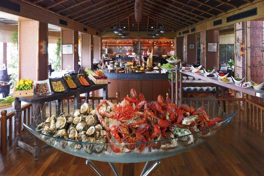 THBKKANANR Anantara Bangkok Riverside Resort & Spa 29 Trader Vic's Sunday Brunch