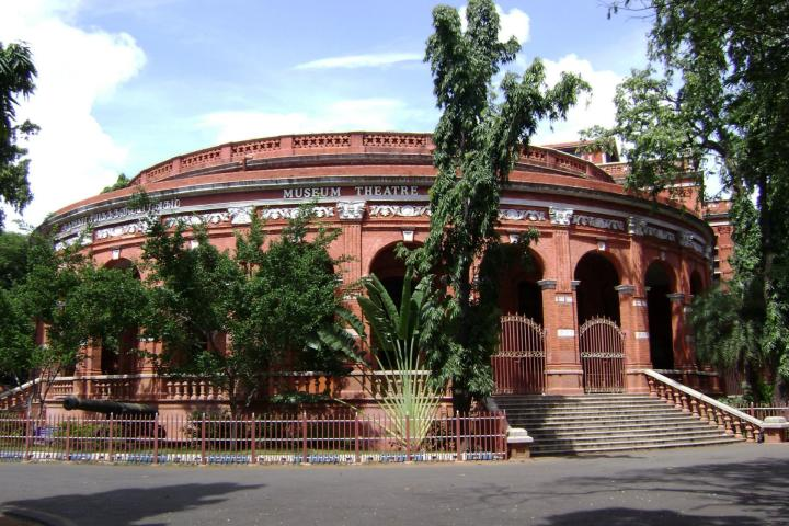 IN Südindien 1. Government Museum - Chennai