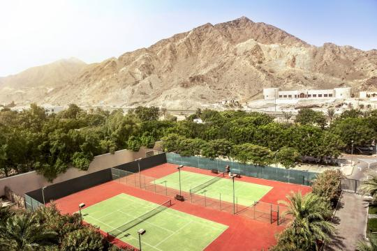 AEDXBROTAN Fujairah Rotana Resort & Spa Tennis