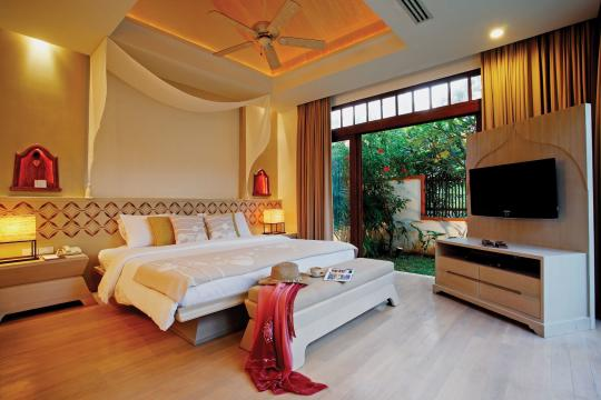 THUSMMELAT Melati Beach Resort & Spa Pool Villa Suite (Bedroom)