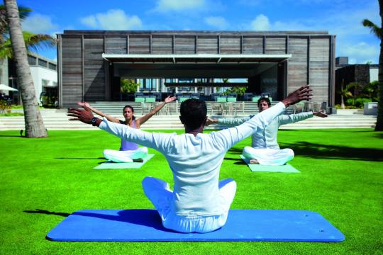 MUMRULONGB Long Beach Golf & Spa Resort Yoga