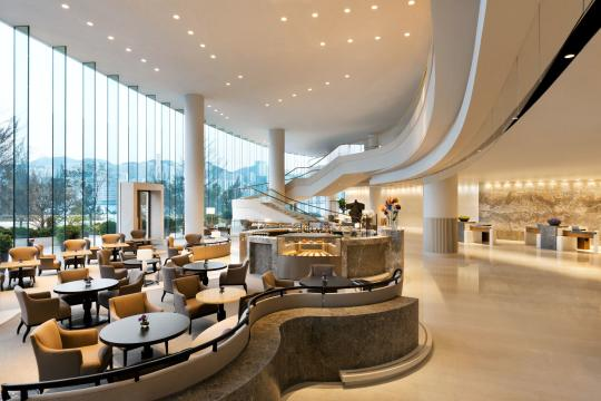 HKHKGKERRY Kerry Hotel Hongkong Lobby Front Desk