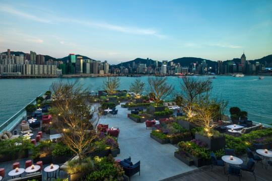 HKHKGKERRY Kerry Hotel Hongkong Red Sugar Terrace