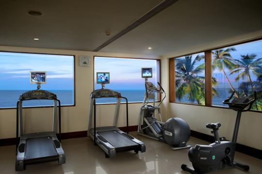 INTRVRAVIZ The Raviz Kovalam GYM 1