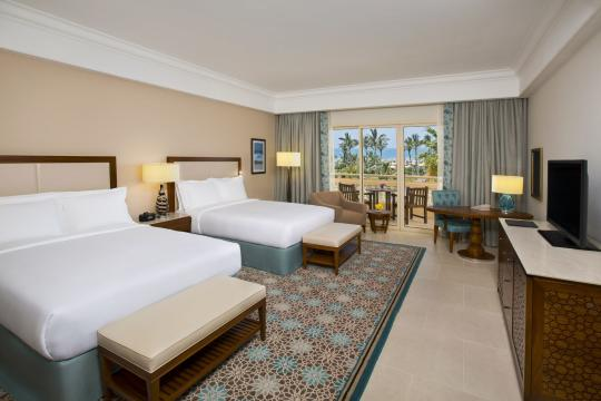 AEDXBALHAM Hilton Al Hamra Beach & Golf Resort Room with a view