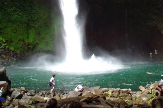 CR Costa RicaLa Fortuna Waterfall