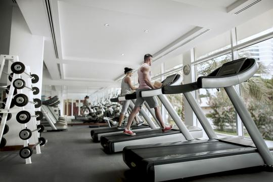 AEDXBROTAN Fujairah Rotana Resort & Spa fitness