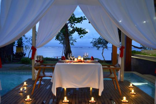 IDDPSMAYAS Maya Sanur Resort & Spa Romantic Dinner