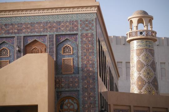 QA Katar Mosque Katara Village
