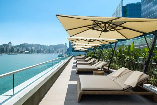 HKHKGKERRY Kerry Hotel Hongkong Pool Deck Terrace