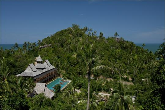 THUSMSANTH Santhiya Koh Phangan Resort & Spa New resident Top view