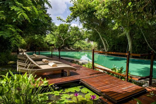 LKCMBJUNGL Jungle Beach Resort by Uga Escapes Pool