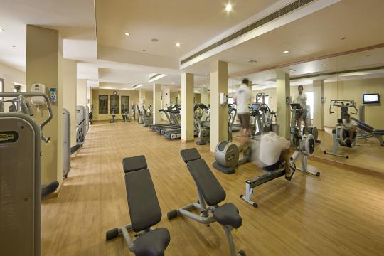 AEDXBIBERO Miramar Al Aqah Beach Resort by Iberotel Fitness Room