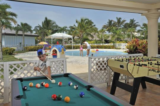 CUVRAMELCS Meliá Cayo Santa María - Pool table