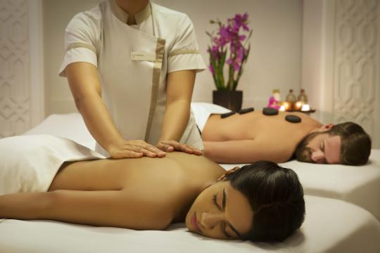 AEDXBHIRAS Hilton Resort & Spa Ras Al Khaimah Couple Treatment at The Spa