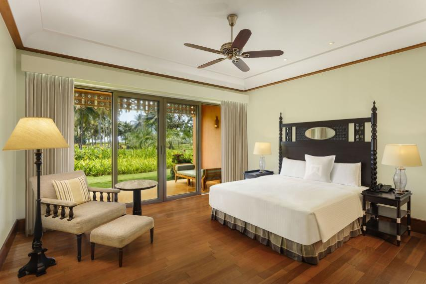 INGOIITCGR ITC Grand Goa 26 Sea View Room King Bed