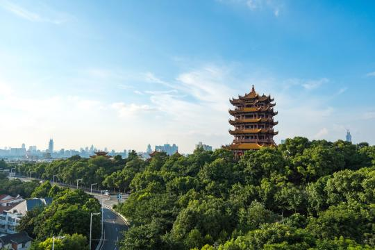 CN China China Wuhan The yellow crane tower shutterstock 1283734753