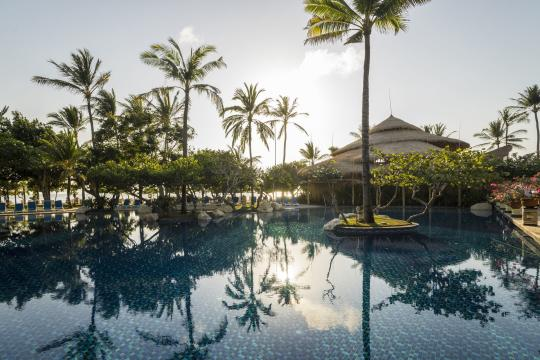 IDDPSNUSAD Nusa Dua Beach Main Lagoon Pool View