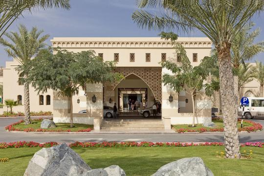 AEDXBIBERO Miramar Al Aqah Beach Resort by Iberotel Hotel Entrance