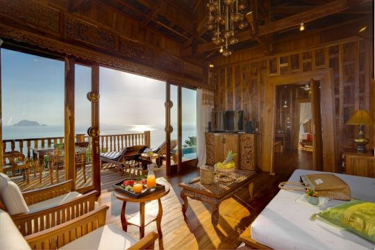 THHKTSANTH Santhiya Koh Yao Yai Resort & Spa Santhiya Ocean View Living Room