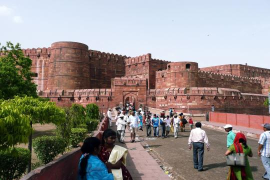 Indien720 Indien Agra Rotes Fort 2