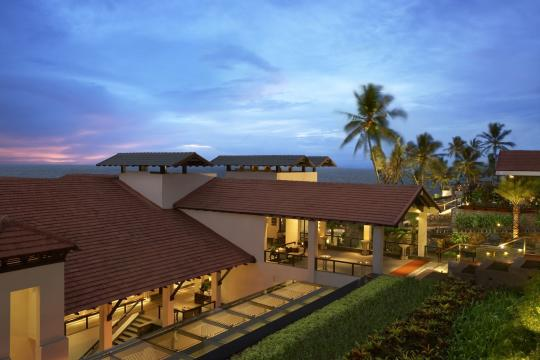 INTRVRAVIZ The Raviz Kovalam CLUB BLOCK