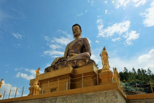 Bhutan Timphu Buddha Point 1