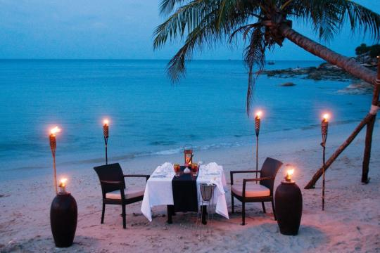 THUSMMELAT Melati Beach Resort & Spa Romantic Dinner 1