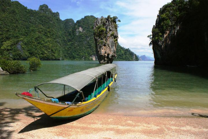 TH Thailand Südthailand Thailand Phuket Phang Nha Nationalpark James Bond Felsen 14