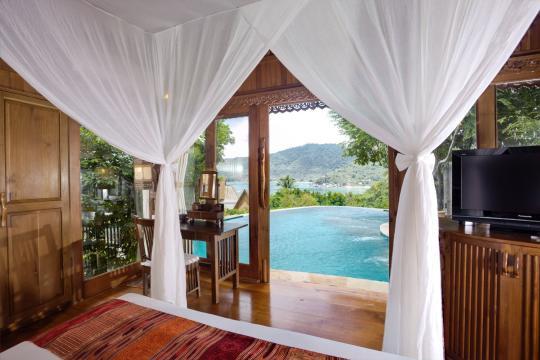 THUSMSANTH Santhiya Koh Phangan Resort & Spa Sea View Pool Villa Suite 2