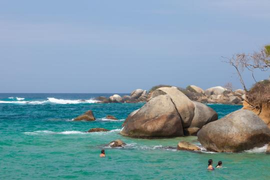 CO Kolumbien Tayrona Nationalpark
