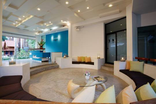 THUSMCENCO Centra Coconut Beach Resort CBS lobby