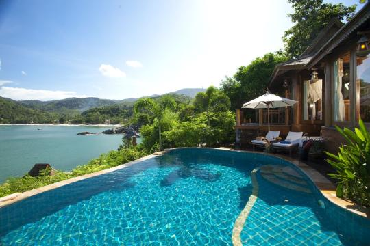 THUSMSANTH Santhiya Koh Phangan Resort & Spa Sea View Pool Villa Suite Plus