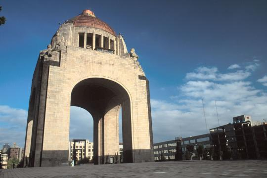 MX Mexiko City revolutions monument
