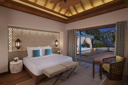 QADOHBANAN Banana Island Resort by Anantarat Three Bedroom Pool Villa King Bedroom-96