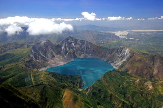 PH Philippinen Philippinen Nordluzon Pinatubo Vulkan