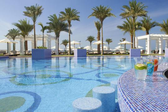 AEAUHTHEST St. Regis Abu Dhabi Corniche Nation Riviera Beach Club  Swim-Up Bar