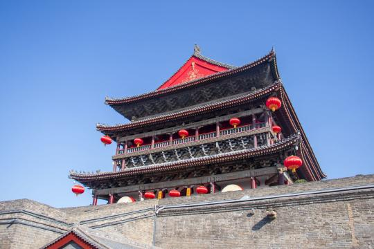CN China Shaanxi China Xian Trommelturm china-3999969