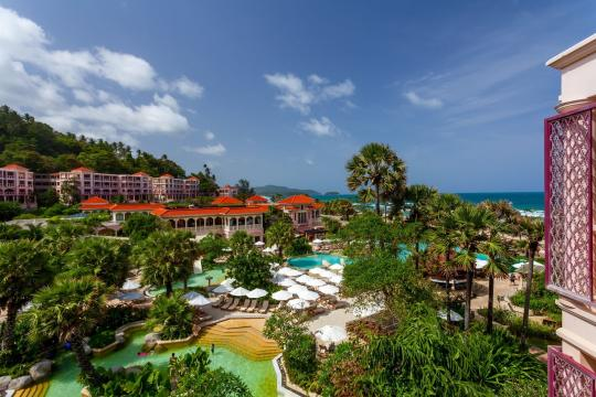 THHKTCENTG Centara Grand Beach Resort Phuket CPBR water-park