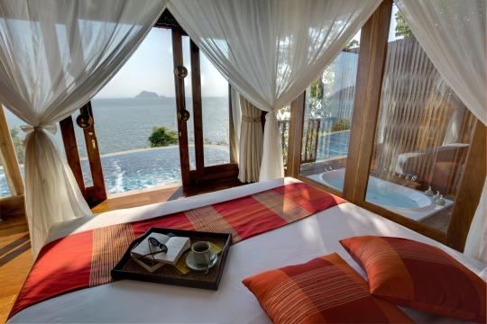 THHKTSANTH Santhiya Koh Yao Yai Resort & Spa Santhiya Ocean View Bed Room