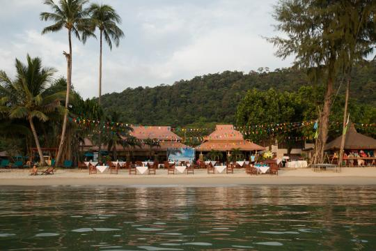 THTDXPARAD Koh Chang Paradise Resort Beach 3
