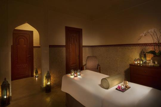 AEDXBHIRAS Hilton Resort & Spa Ras Al Khaimah The Spa Single Treatment Room